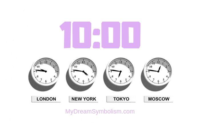 Ý nghĩa của con số 10:00